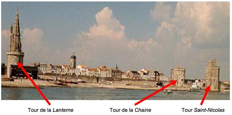 Tours La Rochelle France