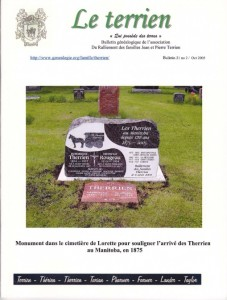 Le Terrien - Volume 21 No 2 - 2005