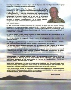 Biographie de Roger Therrien