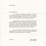 Invitation à une première rencontre le 19 novembre 1983