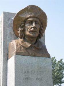 Sieur de Laviolette fondateur de Trois-Rivières