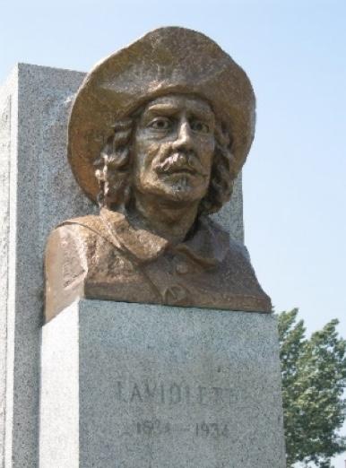 Sieur de Laviolette fondateur ode Trois-Rivières